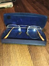 Baush & Lamb 40s prescription glasses gold plated frame 1/10 12K GF Vtg MOD Rare
