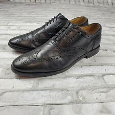 Cole Haan Grand OS Men's Oxford Wingtip Dress Shoes Black Size 13M