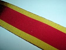 MEDAL RIBBON-BRITISH OLD SILK/COTTON FOR THE 3rd CHINA WAR MEDAL 1900 BOXER