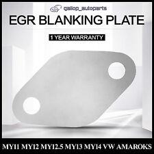 For VW Amarok EGR Blank Plate BiTDi Manual Auto 2010-2011-2012-2013-2014 MY11-14