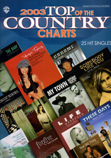 25 COUNTRY HIT SONGS SONGBOOK Piano Vocal Guitar Sheet Music Book Shop Soiled