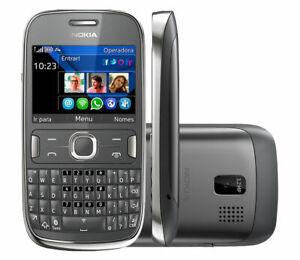 Unlocked Original Nokia Asha 302 3020 RM-813 QWERTY Bar Mobile Cell Phone
