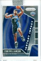 ZION WILLIAMSON Panini Prizm Rookie Card RC 2019-20 INSTANT IMPACT #2 Mint HOT!