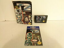 1992 Terminator 2 T2 The Arcade Game Sega Genesis Video Game Complete Works