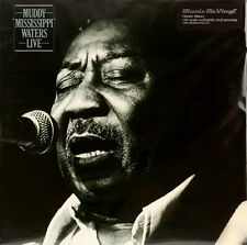 Muddy Mississippi Live  MUDDY WATERS Vinyl Record