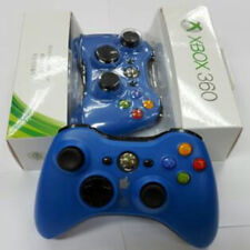 Genuine Microsoft Xbox 360 Red & Blue & Green Wireless Game Controller