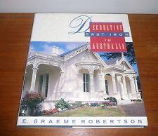 DECORATIVE CAST IRON IN AUSTRALIA BY E. GRAEME ROBERTSON
