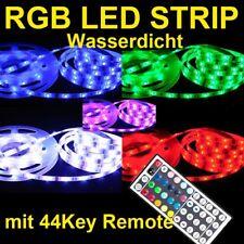 5m RGB 5050 LED Strip 44 Tasten Controller Wasserdicht
