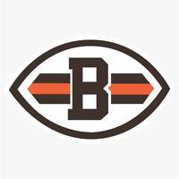 Cleveland Browns Alternate NFL Die Cut Vinyl Decal Buy 1 Get 2 FREE