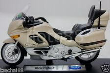 New Die Cast Motorcycle Gold Welly BMW K1200 LT 1/18 Collection Christmas Gift