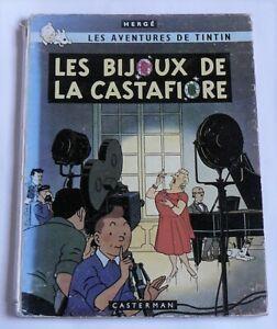 Tintin : Les bijoux de la Castafiore - B34 - EO Française 1963 - Imprim. Danel
