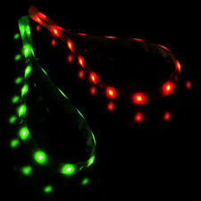 2x Red+Green Waterproof Navigation Light  LED Strip Fit for Boat Marine Car 12V
