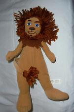 """Nanco Wizard of Oz Cowardly Lion Plush Soft Toy Stuffed Animal 17"""""""