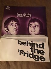 More details for behind the fridge 1971 peter cook dudley moore souvenir programme