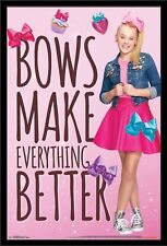 JoJo Siwa 12x8 inch photograph print - Bow  - Dance - Colourful - Mini Poster -