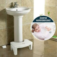 Toilet Folding Multi Function Stool Bathroom Portable Home Ergonomic Step Potty