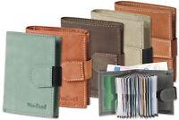 Woodland Porte-Monnaie et Étui Porte Cartes de Crédit en ! en Fin Cuir de Buffle