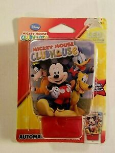 Disney Mickey Mouse Clubhouse LED Automatic Night Light Donald Goofy Pluto