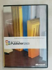 Microsoft Publisher 2003 with CD Key