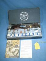 Vintage CASCO ELECTR-O-TOOL Kit w/Accessories Electric Power Dremel Working