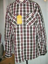 MEN NAUTICA PLAID DRESS OR CASUAL SHIRT SIZE LARGE, NEW WITH TAGS, 100% COTTON