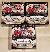 2020 Panini Prizm NFL NEW SEALED Mega Box Trading Cards LOT OF 3 IN HAND