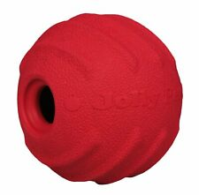 Jolly Pets Jolly Tuff Tosser Unique Rubber Durable Interactive Dog Toy 3 inch