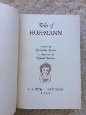 TALES OF HOFFMANN Edited Christopher Lazare Illust'd Richard Lindner 1946 AA Wyn