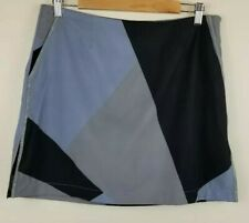GOLFTINI Golf Skort, Womens Size 8, Multicolored, Geometric, W 33, L 16.5, NEW