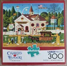 """Buffalo Games Charles Wysocki 300 Large Piece Puzzle,""""The Bird House"""""""