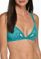 1037a7584ca6e8 NEW honeydew Intimates 21089 Erica Front-Close Bralette S Teal 50129