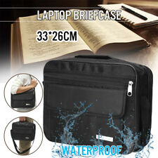 Black Bible Cover Zippered Protective Holy Book Tote Bag Religious Carry Case !