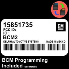 15851735 W/ PROGRAMMING 2005 2006 Colorado / Canyon BCM BCU Body Control Module