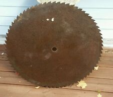 """Primitive 28.5"""" Sawmill Buzz Saw Blade, 72 Teeth,  Rustic Decor"""