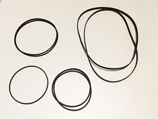Sharp gf-700 Boombox parts Replacement Drive Belt Set