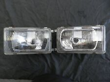 HOLDEN WB KINGSWOOD PAIR HEADLIGHTS WITH RECHROMED REFLECTORS (PRICE REDUCED)