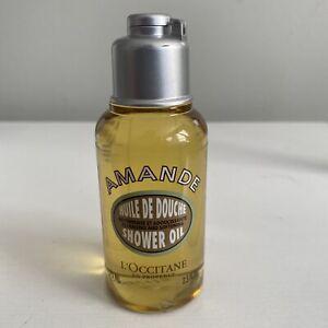 L'Occitane Amande Huile de Douche Shower Oil 2.5 fl. oz. NEW Made in France