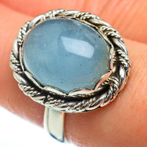 Aquamarine 925 Sterling Silver Ring Size 8 Ana Co Jewelry R46928F