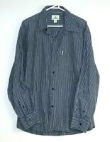 Colorado Men's Long Sleeve Button Up Striped Shirt Size XL