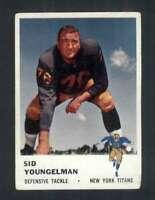 1961 Fleer #220 Sid Youngelman VG/VGEX 107499