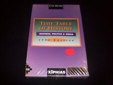 Vintage PC Game - TIME TABLE OF HISTORY - XIPHIAS - RARE NEW
