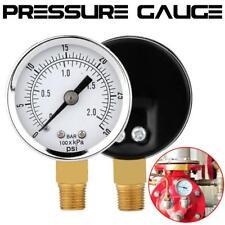Pressure Gauge 0~30 psi 0~2 bar Mini Air Compressor / Hydraulic Pressure Gauge