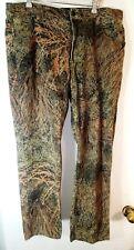 36 X 30 Mossy Oak Shadow Grass ? Camo Jeans   Label says 38 X 32