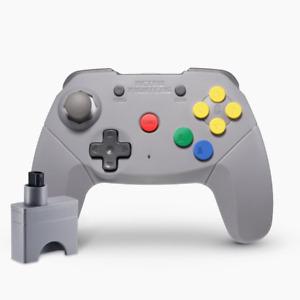 Brawler64 Wireless Edition Controller Nintendo 64 (Grey) Official Stockist