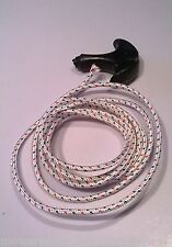 STARTER HANDLE AND 4mm X 2m STARTER ROPE/ CORD SUITS MOST PUSH MOWER - VICTA