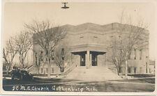 Gothenburg NE * 1st M.E. Church  RPPC ca. 1908 * Dawson Co.   Lexington