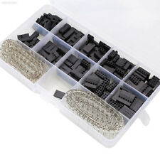 4FAF 610pcs Housing Connector Pin Male/Female Crimp Pins Kit For Dupont New
