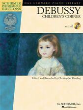 Claude Debussy Children's Corner Learn to Play Beginning Piano MUSIC BOOK & CD
