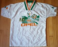 Vintage 1994 IRELAND World Cup soccer jersey M white football 90s Fai Adidas