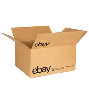 """eBay-Branded Boxes With Black Color Logo 16"""" x 12"""" x 8"""""""